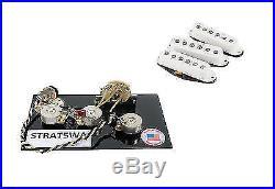Fender Custom Shop'69 Stratocaster Pickup Set Plus 5 Way Wiring harness