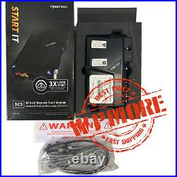 Firstech FT DC3 LC Remote Start IT + High and Low Current DC3 Wiring harness Kit