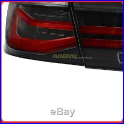 For 12-18 BMW LED M-Performance Black Line Tail Lights LCI with Coding Harness