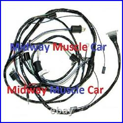 Front end headlight headlamp wiring harness 61 62 Chevy Impala Biscayne belair