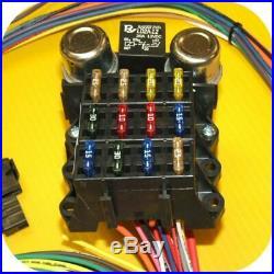 Full Wiring Harness Jeep CJ7 CJ5 CJ8 CJ6 Scrambler Willys CJ FC AMC Fuse Block