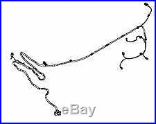 genuine vauxhall astra twintop convertible bootlid wiring harness new  13256591