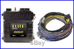 HALTECH Elite 550+ Basic Universal Wire-in Harness Kit HT-150402