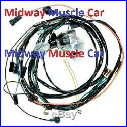 HEI engine wiring harness 70 1970 Chevy Chevelle Malibu El Camino 350 396 454