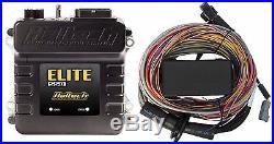 Haltech Elite 550 ECU + 2.5m (8 ft) Premium Universal Wirein Harness Kit