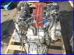 JDM Toyota 2JZGTE VVTi Twin Turbo 3.0L DOHC Engine Wiring Harness Ecu Maf Sensor