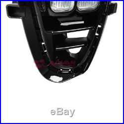 LED Foglights with Wire Harness Switch For Kia Sorento 2019+ 4 Eyes Fog Light