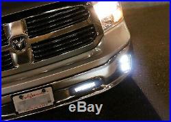 Lower Bumper Mount LED Light Bar with Bracket, Wiring For 11-18 Dodge RAM 1500