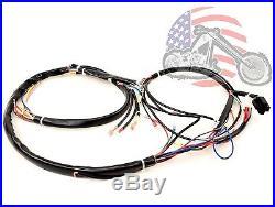 Main Complete Engine Frame Wiring Harness Harley Davidson ... on