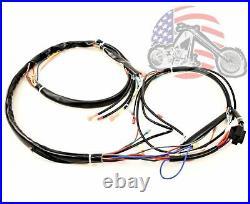 Main Complete Engine Frame Wiring Harness Harley Davidson Sportster 1986-1990