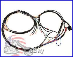 Main Complete Engine Frame Wiring Harness Harley Davidson Sportster on chopper wiring harness, harley twin cam wiring harness, harley sportster headlight wiring, harley davidson wiring harness, 2004 sportster wiring harness, honda wiring harness, yamaha wiring harness, suzuki wiring harness, 2005 sportster wiring harness, street glide wiring harness, harley shovelhead wiring harness, 1989 sportster wiring harness, triumph bonneville wiring harness, ironhead sportster wiring harness, harley softail wiring harness, electra glide wiring harness, harley bobber wiring harness,