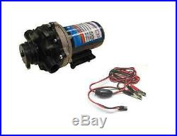 New 5.5 GPM 60 psi 12 Volt Diaphragm ON Demand WATER PUMP with Wire Power Harness