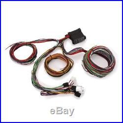 new speedway 12 circuit universal hotrod muscle car wiring harness, 12 feet  long