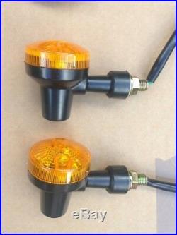New Universal Motorcycle Indicator Wiring Loom Harness Kit Relay 4 X Indicators