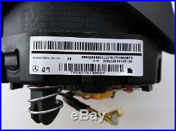 Oem Mercedes A W176 C W205 Cla W117 Cls W218 Gla Gle Black Steering Wheel Airbag
