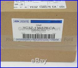 Oem Trailer Hitch 4 & 7 Pin Wiring Harness 1999-2001 Ford F250 F350 F450 F550