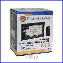 Planet Audio Radio Stereo Dash Kit JBL Wire Harness for 2005-2011 Toyota Tacoma