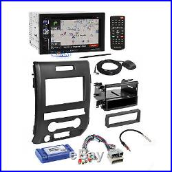 Planet Audio Radio Stereo Dash Kit Wire Harness Interface for 09-12 Ford F-150