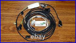 Rear Lamp Wiring Harness Made in USA 67 Camaro Standard Coupe non-RS tail light