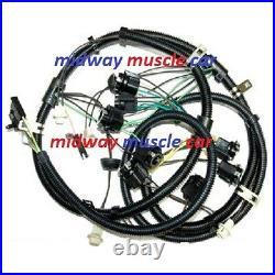 Rear body panel tail light wiring harness 79 80 81 Pontiac Trans Am Firebird T/A