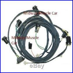 Rear body tail light wiring harness 69 Pontiac GTO 1969 coupe judge ram air