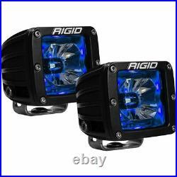 Rigid Industries 20201 Radiance Spot Light Pod With Blue Backlight Pair
