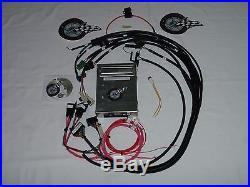 TBI Wiring Harness WithECM Fuel Injection Wire Harness SBC TBI ENGINE SWAP