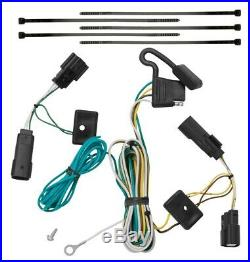 Trailer Tow Hitch For 09-20 Ford Flex Receiver with Wiring Harness Plug & Play