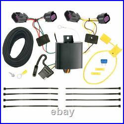 Trailer Tow Hitch For 14-20 RAM ProMaster 1500 2500 3500 with Wiring Harness Kit