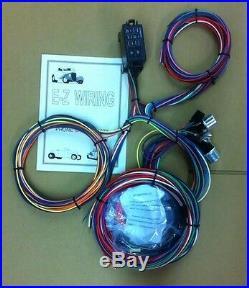 Universal 12 Circuit MINI Hot Rod Wiring Harness