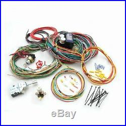 Universal 1964 1965 1966 Ford Mustang Fairlane Wiring Harness Wire Kit