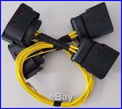 VW Golf 5 Adapter für original Xenon Scheinwerfer Kabel Kabelbaum R32 GTI MK5