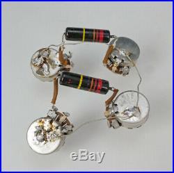 Vintage 1960 Gibson Les Paul Burst Wiring Harness Pots Bumblebee Caps 1958 1959