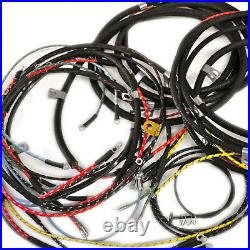 Willys Jeep Wiring Harness 1946-49 CJ2A Horn On Fender With Turn Signals USA MAD