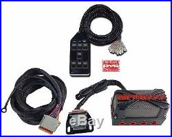 X4 Air Valve Manifold Wire Harness & AVS 7 Black Switchbox Air Ride Suspension